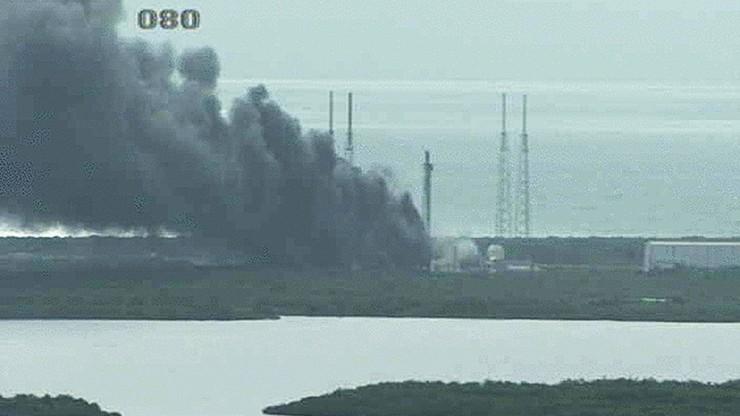 Eksplozja na przylądku Canaveral. Wybuch zniszczył rakietę Falcon 9