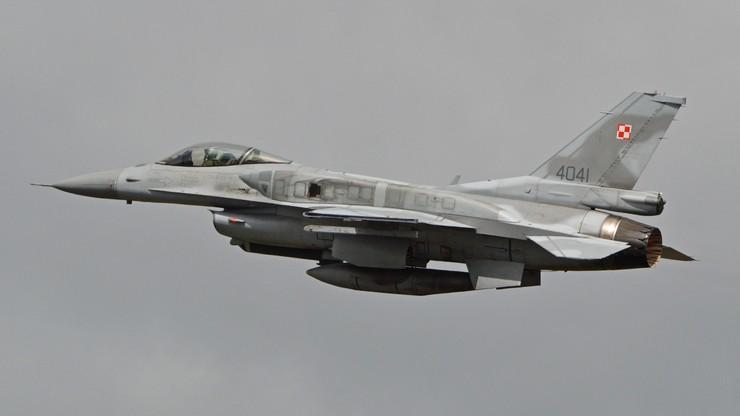 Wojsko potwierdza, że to polskie F-16 przechwyciły rosyjskie samoloty