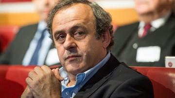 09-05-2016 11:36 Platiniemu złagodzono karę. Prawnicy: zrezygnuje z szefowania UEFA