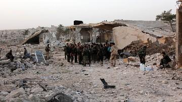 06-10-2016 12:30 Syryjska armia żąda od rebeliantów opuszczenia wschodniej części Aleppo