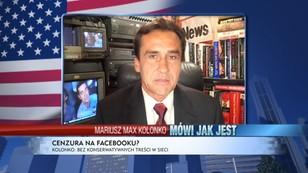 Mariusz Max Kolonko: Facebook bez konserwatywnych treści