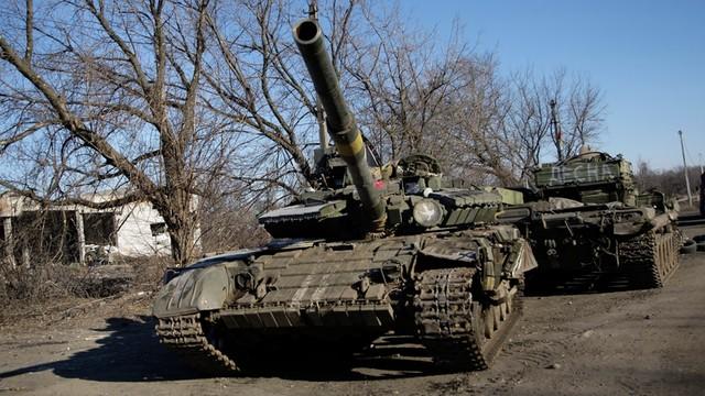Ukraina: Ponad 40 tys. bojowników i pół tysiąca czołgów na wschodzie