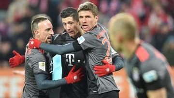 2016-12-02 Fantastyczny mecz i dwa gole Lewandowskiego. Bayern lepszy od Mainz.