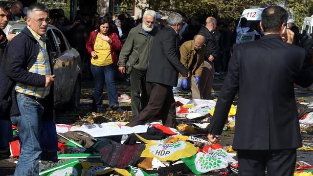 Już 86 zabitych w Ankarze. To najkrwawszy zamach w historii kraju