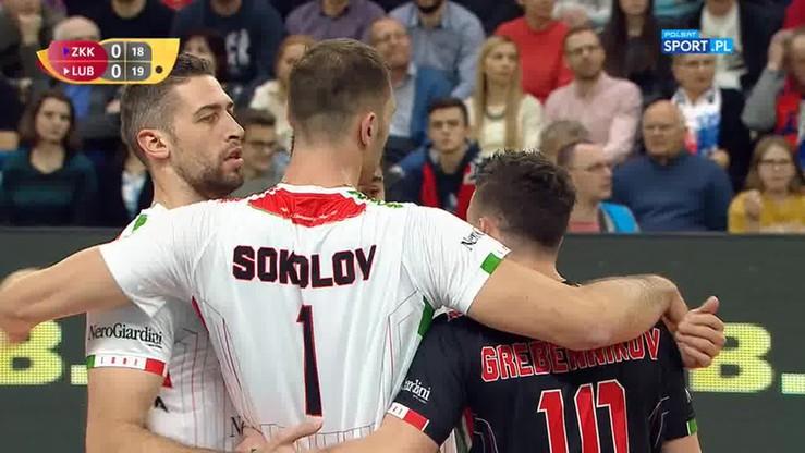 2017-12-13 ZAKSA Kędzierzyn-Koźle - Cucine Lube Civitanova 2:3. Skrót meczu