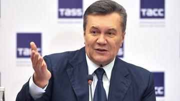 """28-11-2016 15:41 """"Podejrzany o zdradę"""". Ukraina prokuratura poinformowała byłego prezydenta o zarzutach"""
