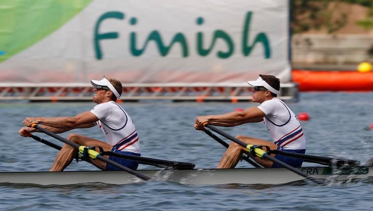 Rio 2016: Męska dwójka podwójna wagi lekkiej w półfinale