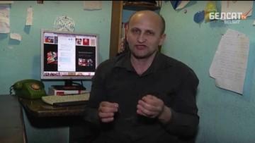 15-04-2016 23:29 Białoruski dziennikarz zaszył sobie usta po wyroku sądu