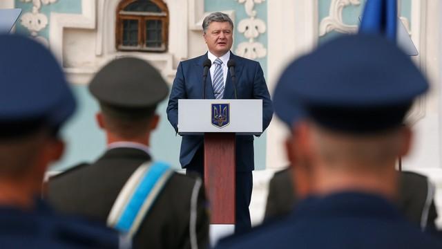 Poroszenko: nasza flaga zawiśnie nad Krymem i Donbasem