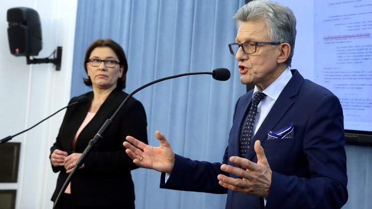 """PiS nie poprze wniosku o odwołanie Piotrowicza. """"Takiej możliwości nie ma"""""""
