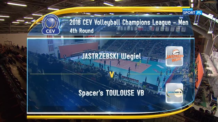 Jastrzębski Węgiel – Spacer's Toulouse 3:0. Skrót meczu