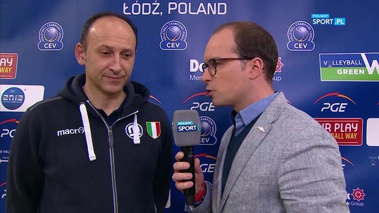 Sartoretti: Polska ma zawsze wielke ambicje, więc wybór De Giorgiego to świetny pomysł
