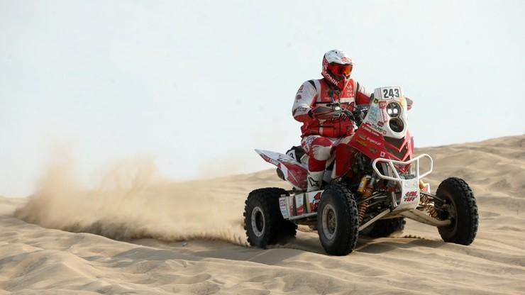 Polski mistrz złamał nogę i wycofał się z Rajdu Dakar!