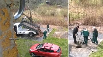 21-04-2017 17:16 Opony, gruz i śmieci do studzienek kanalizacyjnych. Tak sprzątają w Mysłowicach