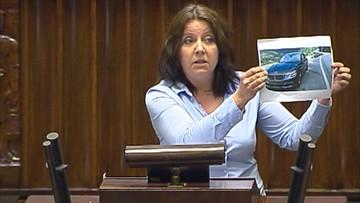 """31-08-2016 16:33 Posłanka PiS straciła prawo jazdy. """"Obiecuję w przyszłości poprawę"""""""