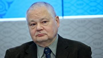 06-05-2016 11:06 Adam Glapiński kandydatem na nowego szefa NBP