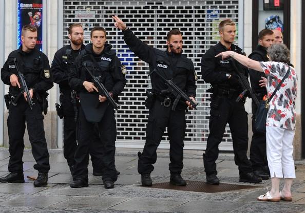 Strzały w Monachium