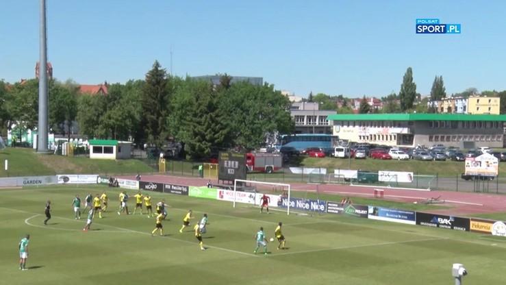 Olimpia Grudziądz - GKS Katowice 0:2. Skrót meczu