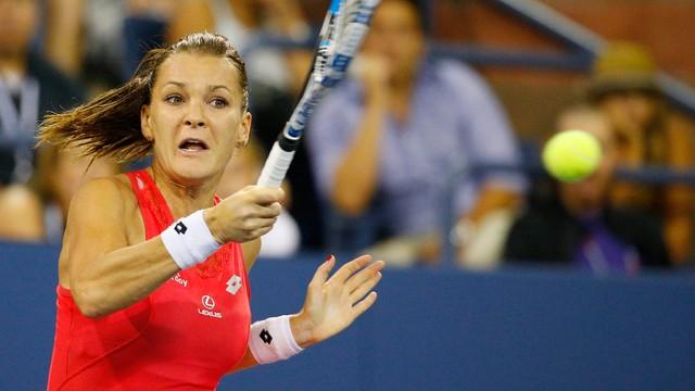 Agnieszka Radwańska odpadła z US Open