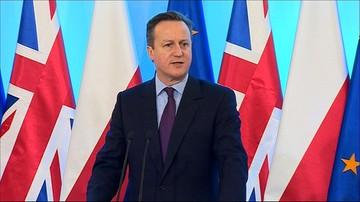 David Cameron w Polsce: na zmianach w UE zyska mój kraj Europa i Polska