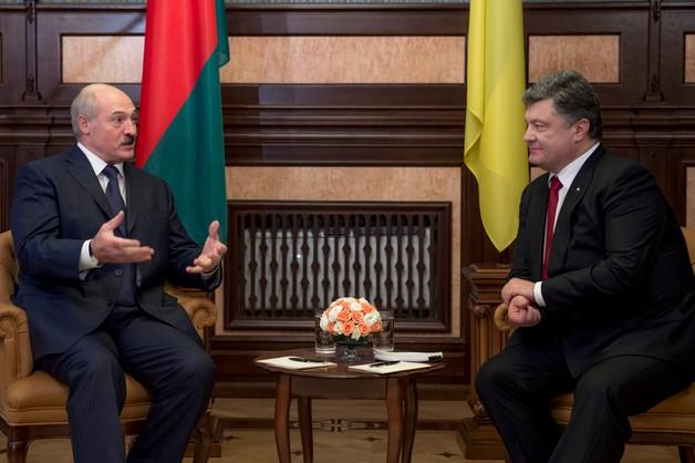 Poroszenko będzie wspierał Białoruś