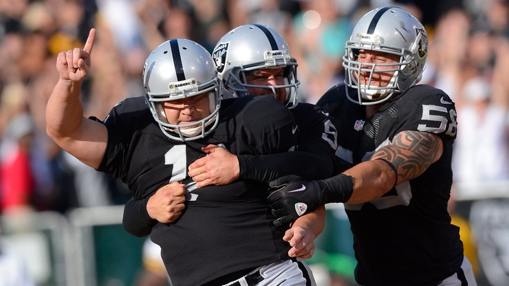 NFL: Druga wygrana Raiders, dziewięć punktów Janikowskiego