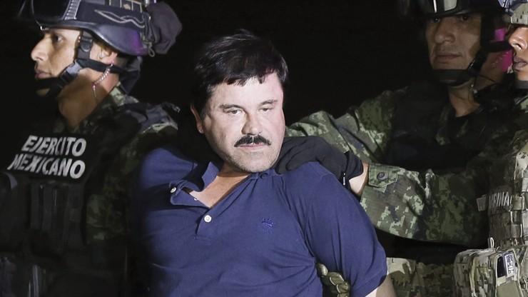 """Baron narkotykowy """"El Chapo"""" trafi do USA. Meksyk zgodził się na ekstradycję"""
