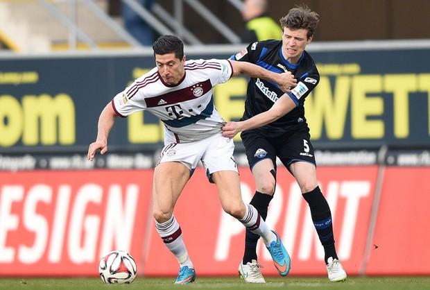 Lewandowski w jedenastce najlepszych piłkarzy Ligi Niemieckiej