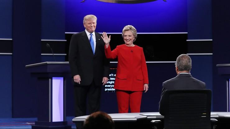 Hillary Clinton i Donald Trump starli się w pierwszej telewizyjnej debacie