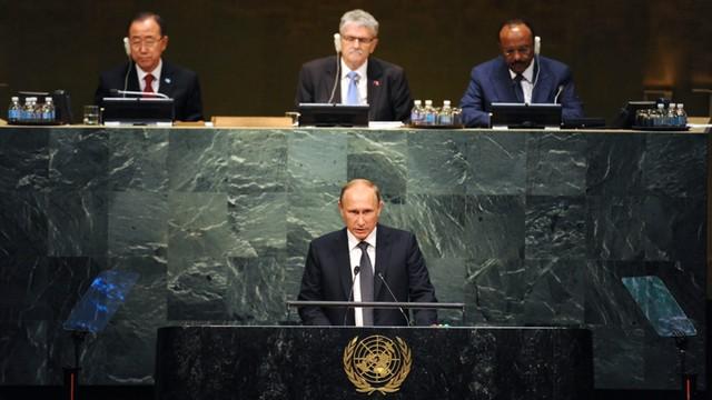 ONZ: Putin za wielką koalicją antyterrorystyczną w Syrii i Iraku