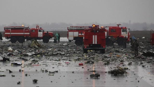 Rosja: Na lotnisku w Rostowie zakończono operację poszukiwawczo-ratunkową