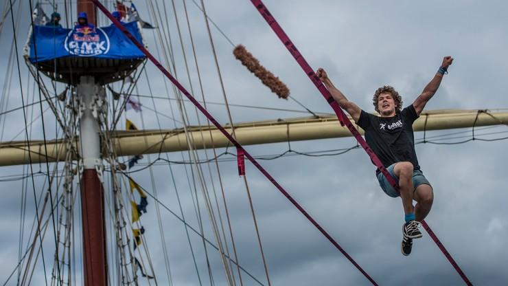 Estończyk zwycięzcą pierwszych zawodów Red Bull Slackship w Gdyni