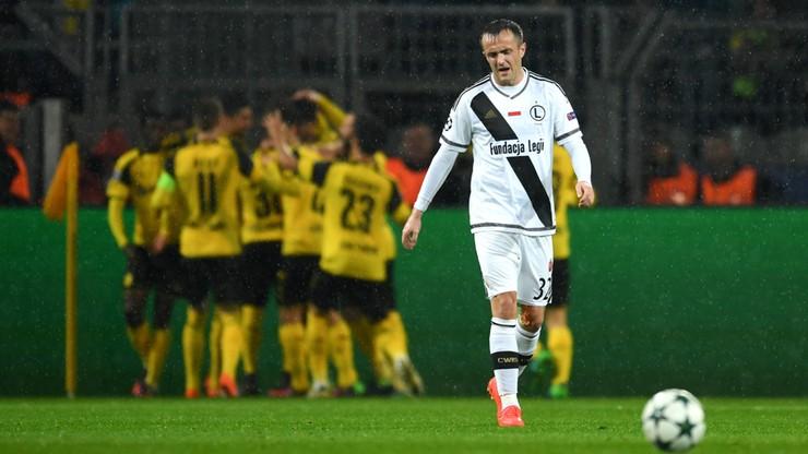 Grad goli w Dortmundzie. Borussia pokonała Legię 8:4