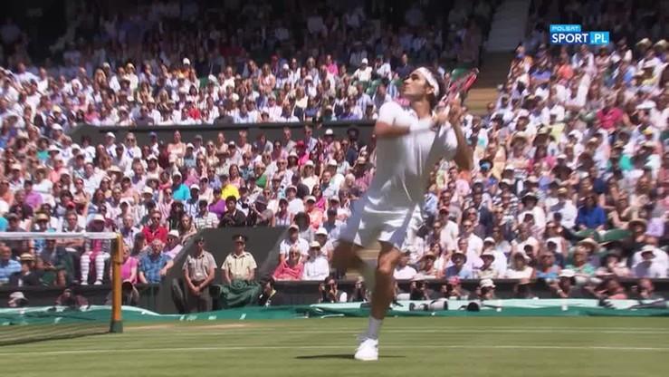 Wimbledon: Huragan braw dla Federera