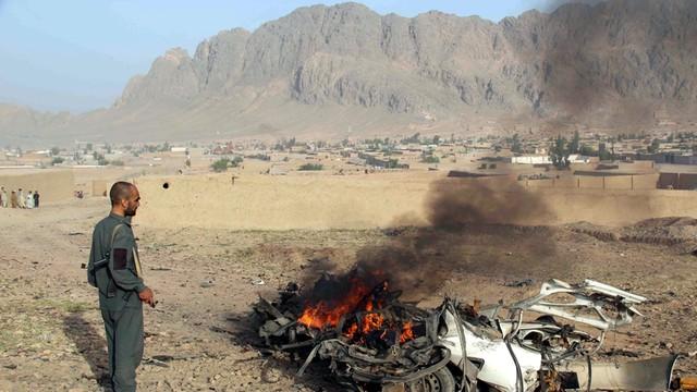 Afganistan: 36 bojowników IS zginęło wskutek zrzucenia bomby przez USA