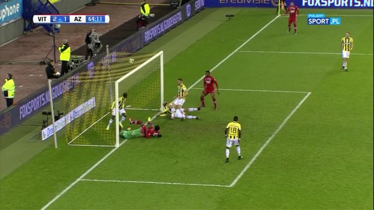Kuriozalny samobój w Eredivisie! Kapitan Vitesse stracił kontakt z bazą