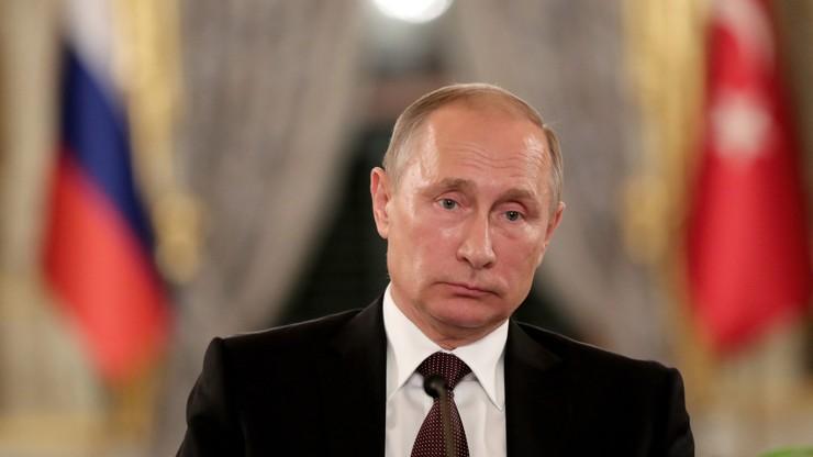 Putin zmienia plany. Nie pojedzie do Paryża