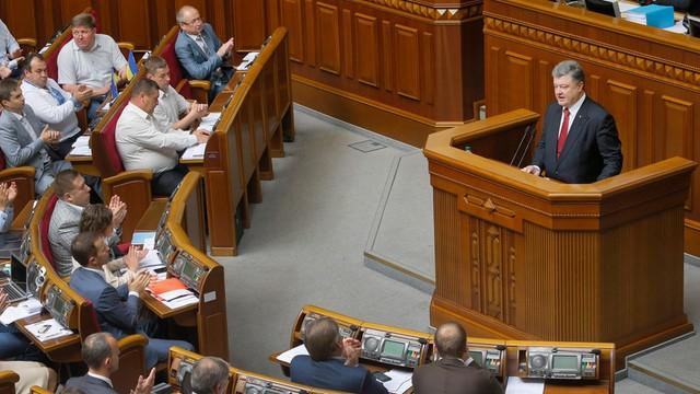Ukraina: parlament otworzył drogę do przyjęcia kontyngentu pokojowego