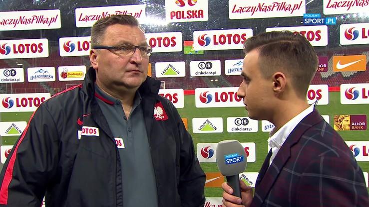 Michniewicz: Zabrakło nam wzrostu przy stałym fragmencie gry