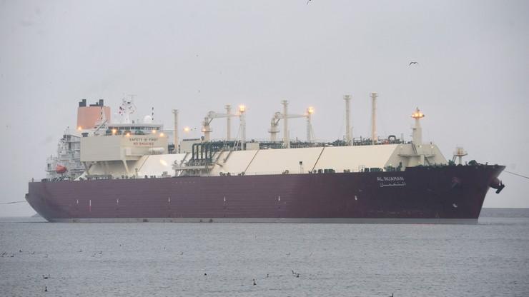 Świnoujście: pierwszy statek ze skroplonym gazem wpłynął do gazoportu