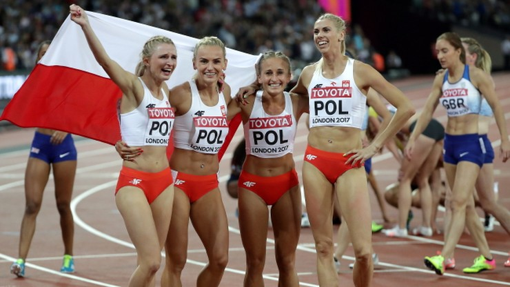 Lekkoatletyczne MŚ: Polki z brązowym medalem w sztafecie 4x400 m!