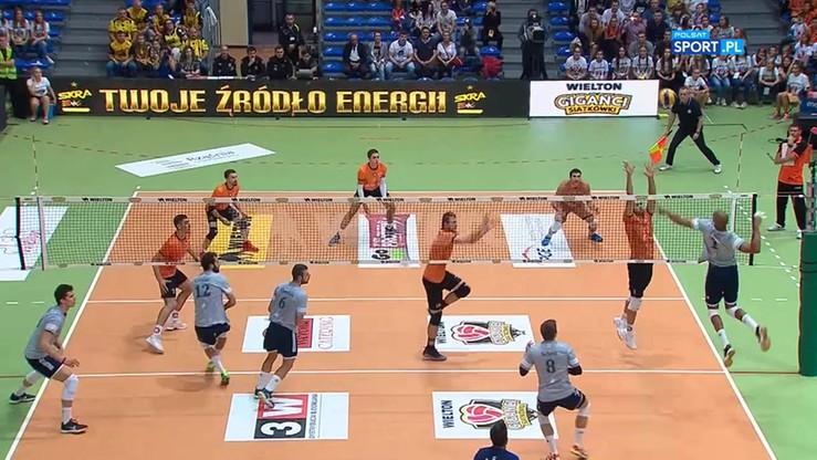 Cuprum Lubin - Power Volley Milano 3:2. Skrót meczu