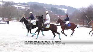 W Wiśle jak w Sankt Moritz i Aspen - Snow Polo, czyli jedna z najrzadszych odmian polo