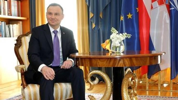 """Prezydent """"absolutnie negatywnie"""" o próbach nakładania na Polskę kar ws. relokacji"""