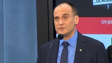 Kukiz zapowiedział referendum w sprawie przyjmowania uchodźców