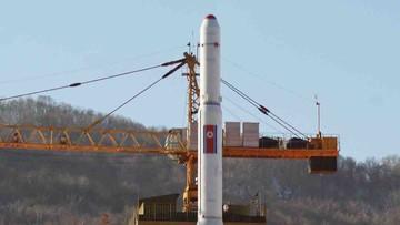 """Rosja """"pilnie"""" wzywa Koreę Północną, by zrezygnowała z wystrzelenia rakiety"""