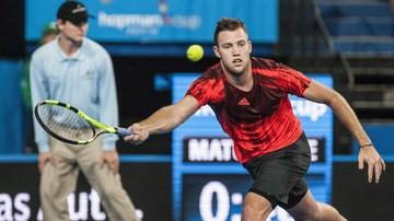 2016-01-14 ATP Auckland: Sock jedynym nierozstawionym graczem w półfinale