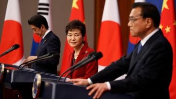 01-11-2015 15:07 Korea Płd., Chiny i Japonia zacieśniają współpracę gospodarczą