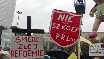 """18-10-2016 13:56 """"Nie dla chaosu w szkole"""". ZNP rozpoczyna ogólnopolską akcję protestacyjną"""