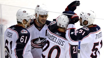 2017-01-18 NHL: Trzydziesta wygrana Blue Jackets w sezonie